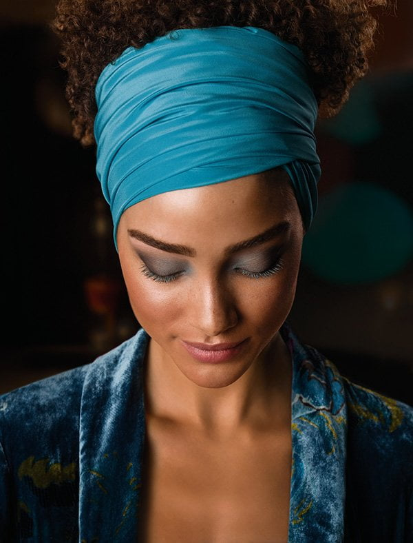 Dr. Hauschka Deep Infinity Night Look by Karim Sattar (PR Image), Review auf Hey Pretty Beauty Blog