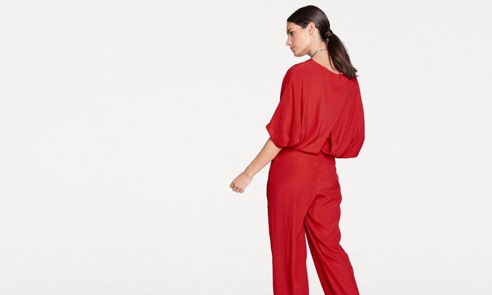 Roter Jumpsuit von Rick Cardona bei Heine (Hey Pretty Fashion Flash)