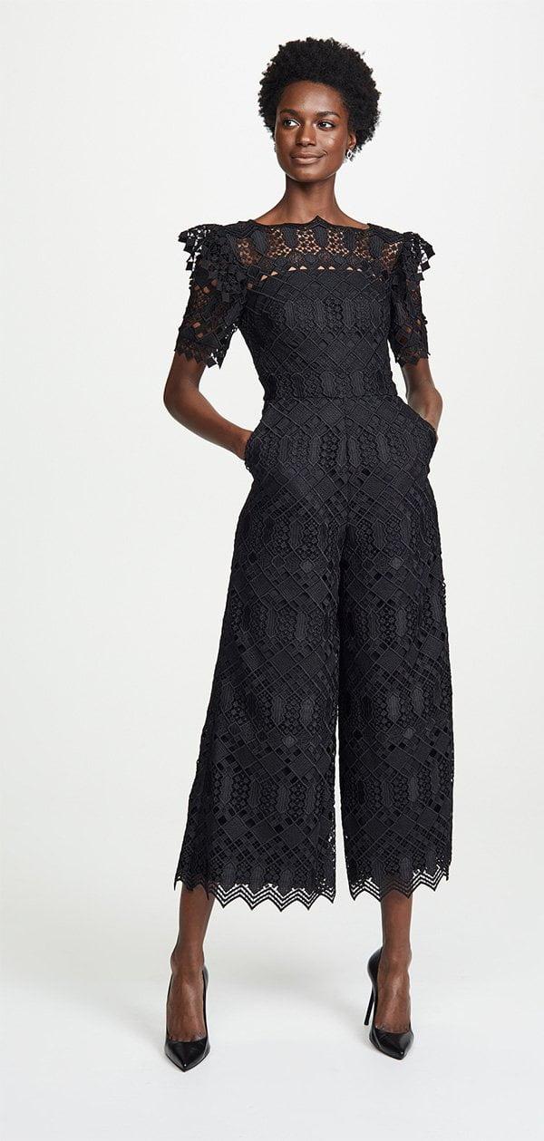 Temperley London Amalia Lace Jumpsuit at Shopbop (Hey Pretty Fashion Flash: Die schönsten Jumpsuits zum Pre-Herbst 2018)