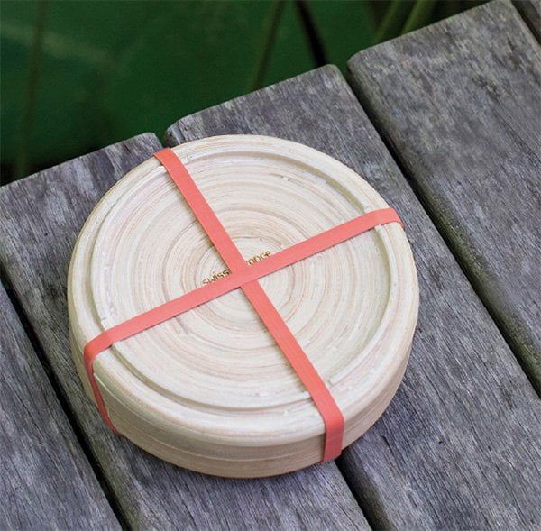 Bambus-Lunchbox Phora von swiss advance aus 100% biologisch abbaubarem Bambus (Hey Pretty's Perfektes Picknick)