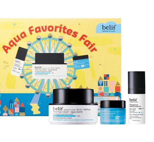 Die besten Beauty-Reisegrössen 2018: Belif Aqua Favorites Fair Set (Sephora at Manor), die Hey Pretty Sommer-Review