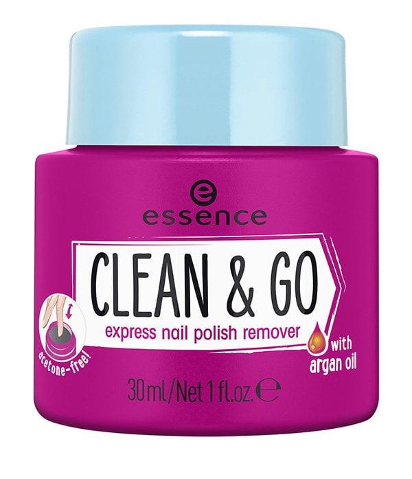 Beauty Reisegrössen: essence Clean & Go Travel Size Nail Polish Remover (30ml)