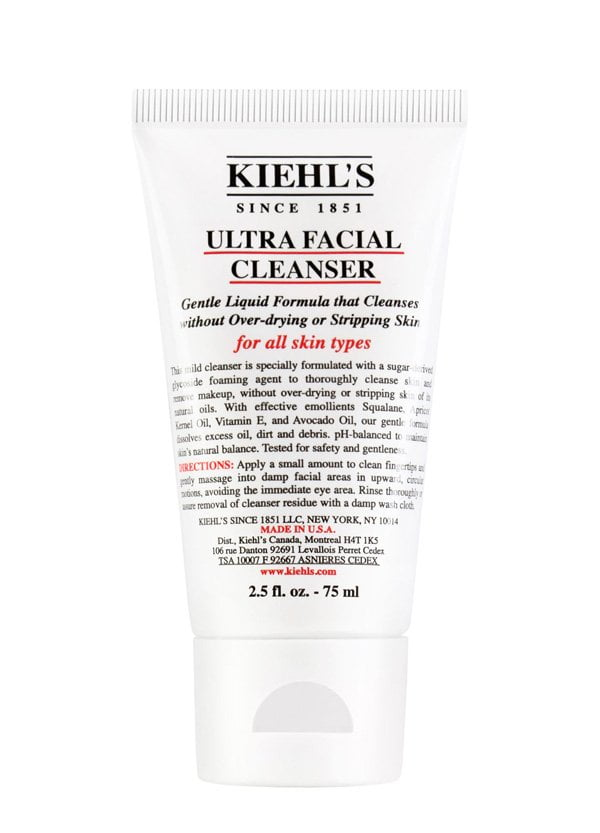 Die besten Beauty-Reisegrössen 2018: Kiehl's Ultra Facial Cleanser 75ml (Hey Pretty Scrolldown-Packliste für die Sommerferien)