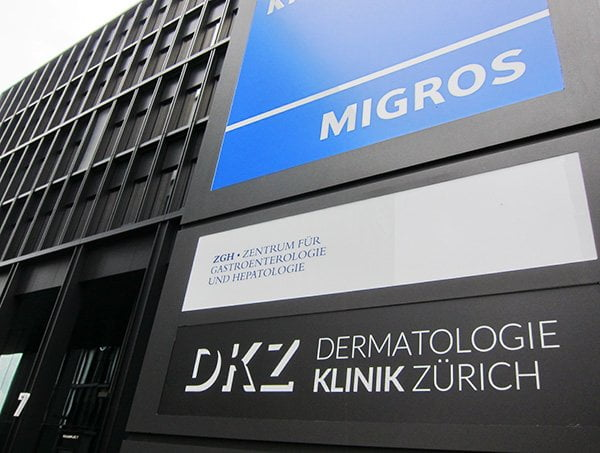 Dermatologie Klinik Zürich: Klinikvorstellung auf Hey Pretty Beauty Blog
