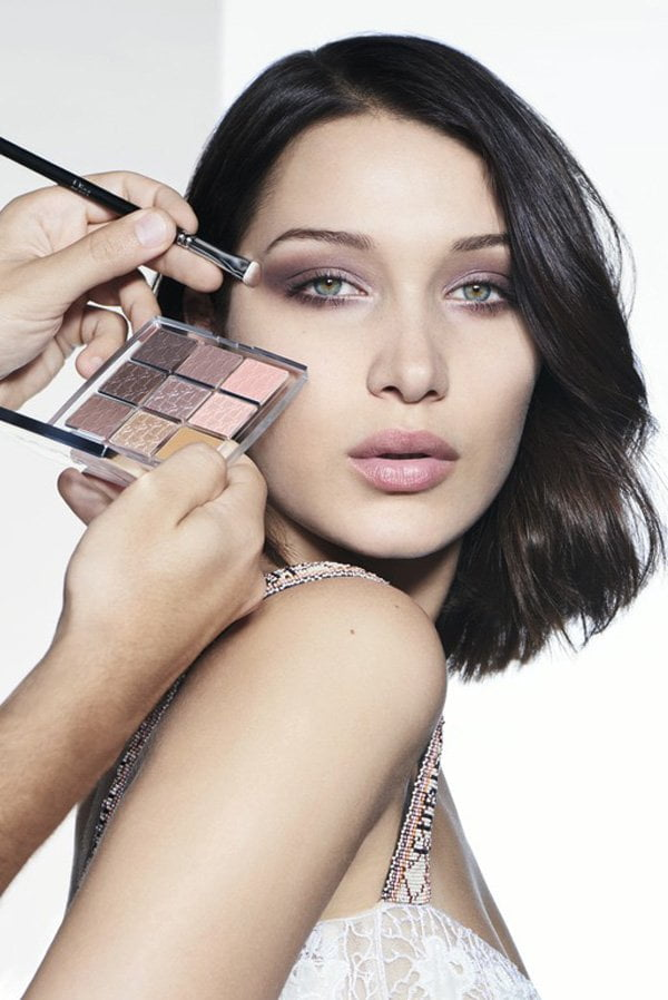 Dior Backstage Eye Palette Cool Neutrals (Model Visual with Bella Hadid), Image Copyright: Dior