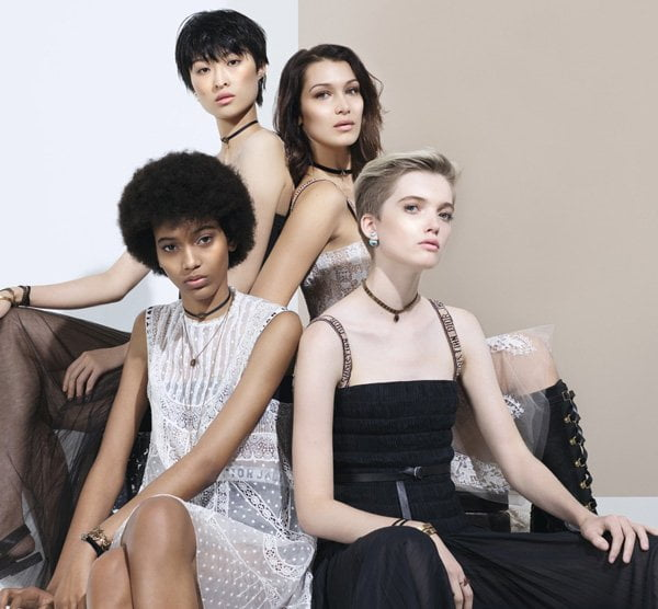 Dior Backstage Makeup (Model Visual), Copyright: Dior
