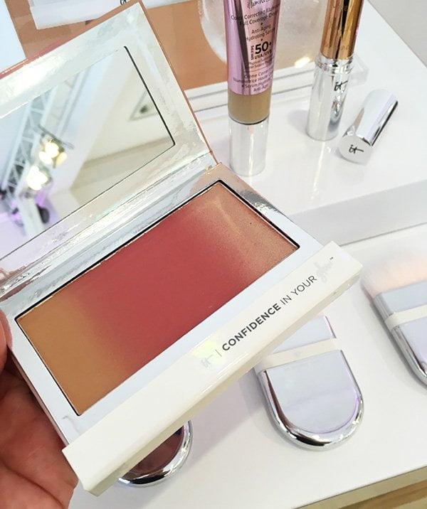 It Cosmetics Bronzer mit Farbverlauf (Hey Pretty Beauty Blog), Launch-Event der Marke in Hamburg