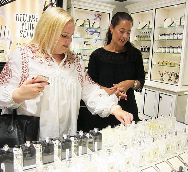Fragrance Combining bei Jo Malone London (am Counter bei Globus Luzern): Hey Pretty Beauty Blog