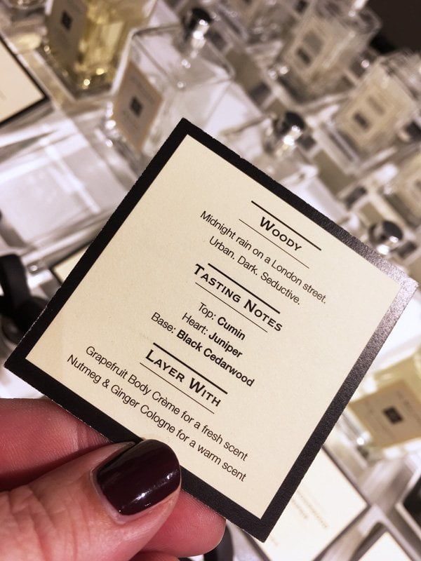 Jo Malone London: Black Cedarwood & Juniper beim Fragrance Combining entdecken (Hey Pretty Beauty Blog Review)