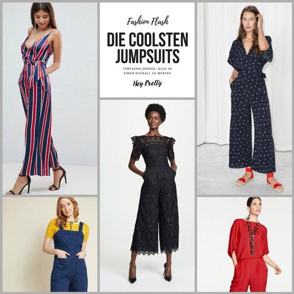 Fashion Flash: 15 coole Jumpsuits für den Frühherbst auf Hey Pretty