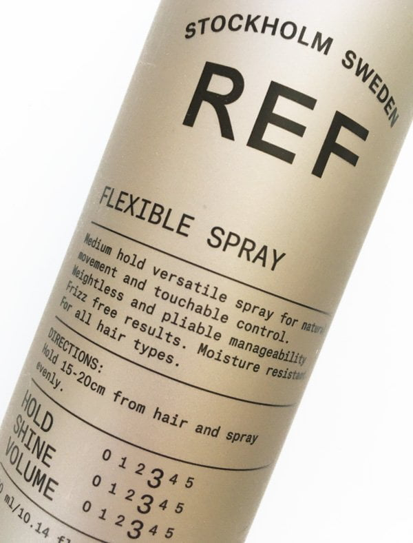 REF Flexible Hold Hair Spray (Review on Hey Pretty Beauty Blog)