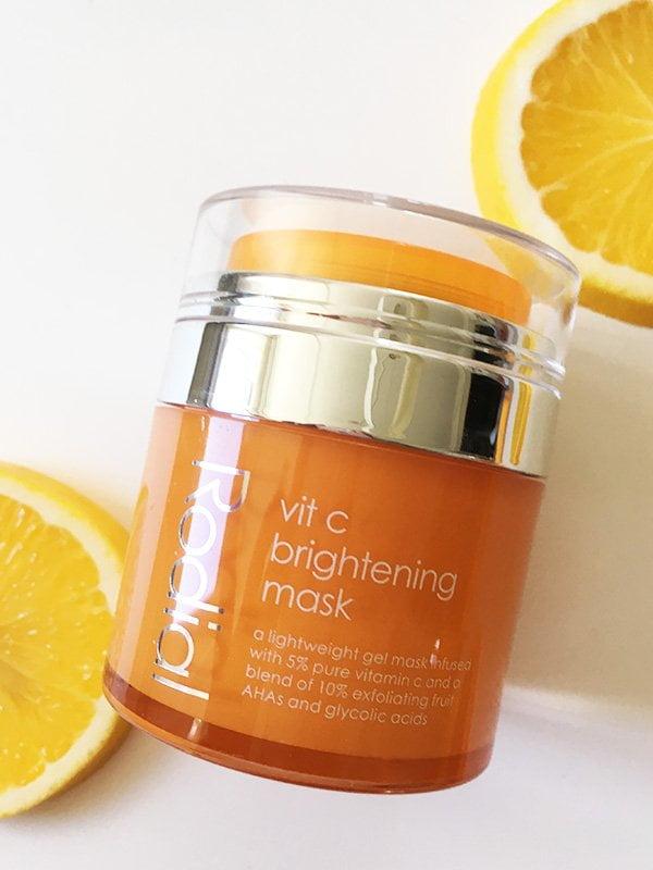 Rodial Vit C Brightening Mask (Hey Pretty Beauty Blog Erfahrungsbericht), in der Schweiz erhältlich bei Marionnaud