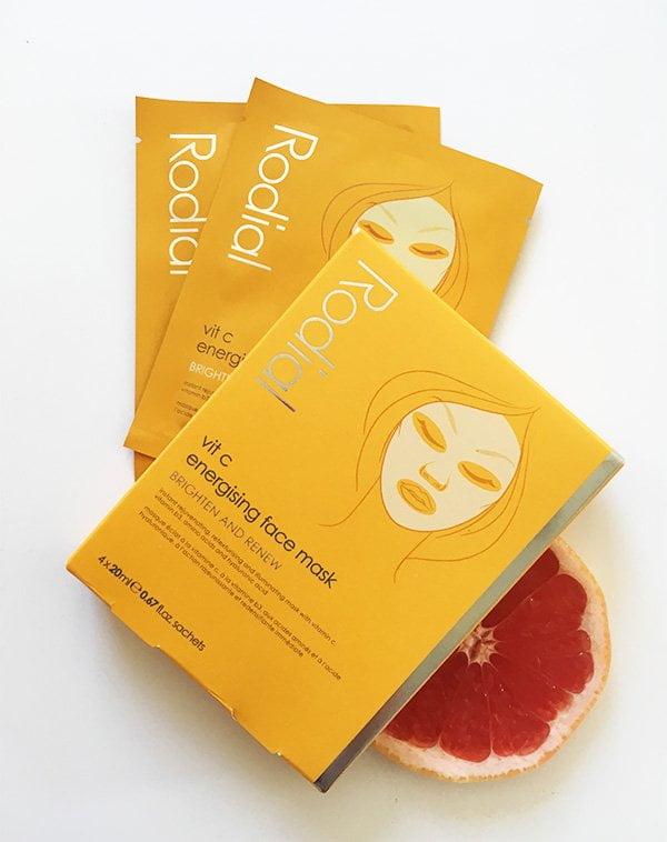 Rodial Vit C Energising Face Mask (Sheet Mask Set), Erfahrungsbericht auf Hey Pretty