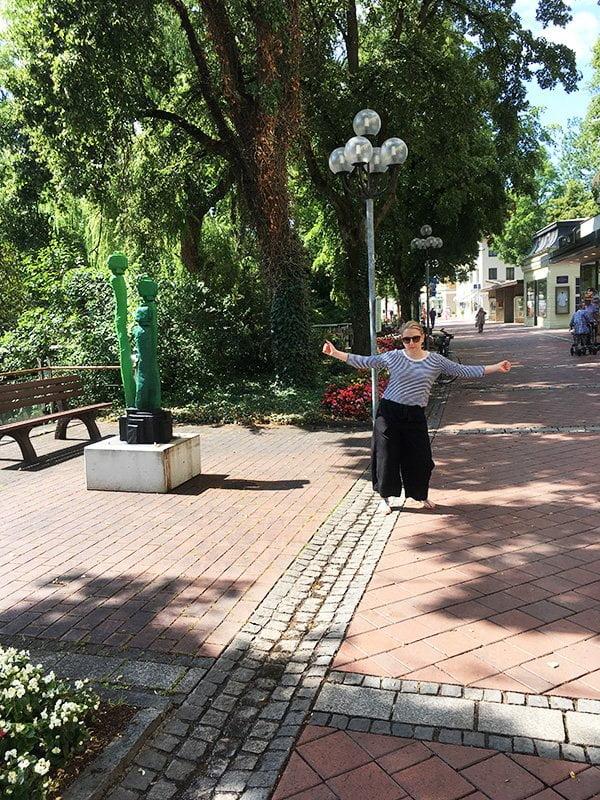 Sandra in Bad Wörishofen: Kneieppen und mehr auf Hey Pretty