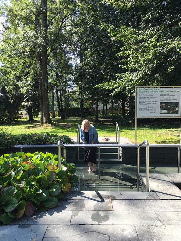 Kneippen im Vitalhotel Sonneck in Bad Wörishofen (Hey Pretty Beauty Blog Erfahrungsbericht)