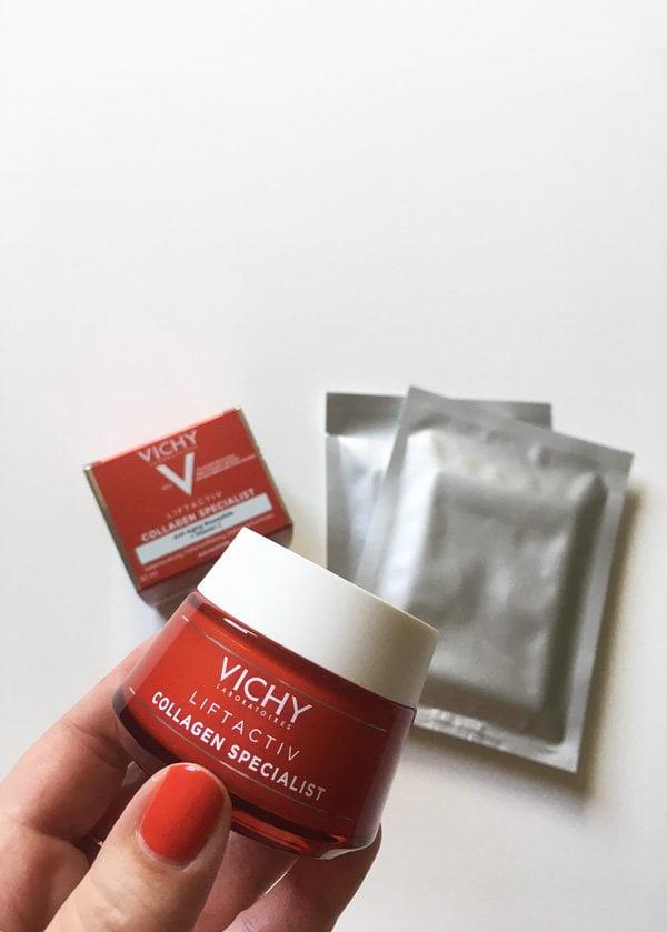 Tester-Aufruf auf Hey Pretty: Vichy Liftactiv Collagen Pflege und Eye Patches gratis ausprobieren!