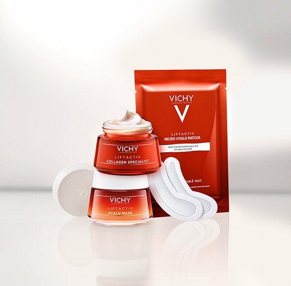 Tester-Aufruf für die neue Vichy Liftactiv Collagen Specialist Pflegelinie auf Hey Pretty (PR Image)