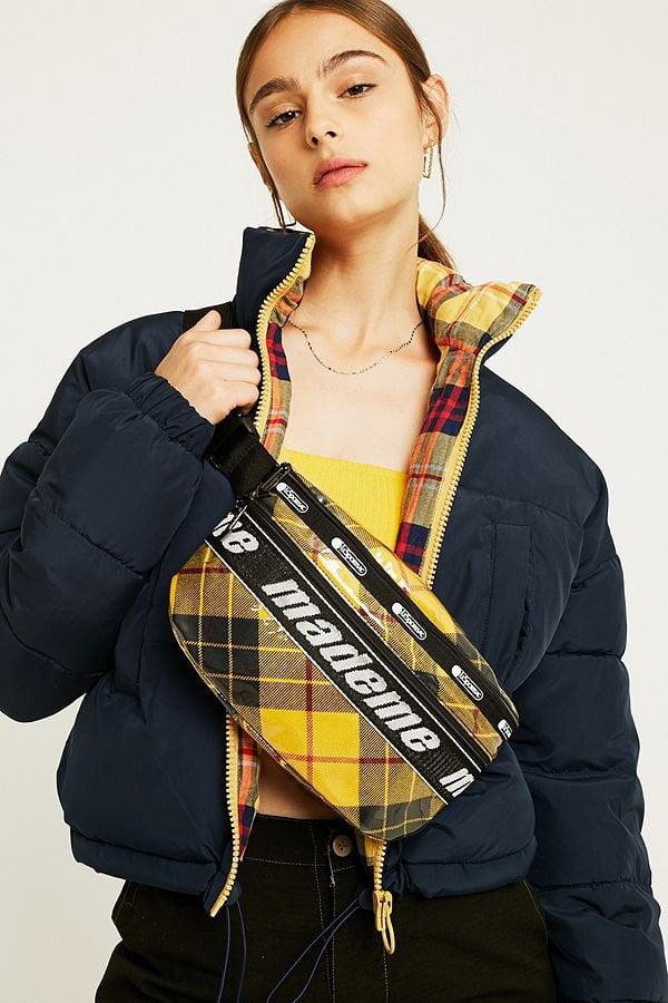 Herbstmode, endlich! MadeMe Bauchtasche kariert von Urban Outfitters (Hey Pretty Fashion Flash FW 2018)