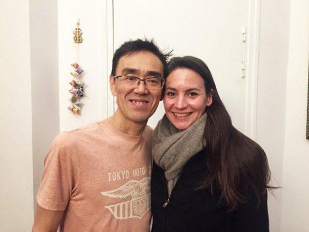Sandra Salvatore und Dr. Shogo Mochizuki, einer von nur drei Kobido-Meistern der Welt (Hey Pretty Review)
