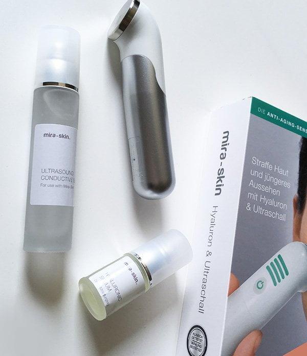 Erfahrungsbericht Mira-Skin Ultraschall-Gerät und Pflegeprodukte (Anti-Aging-Tools), Hey Pretty Beauty Blog