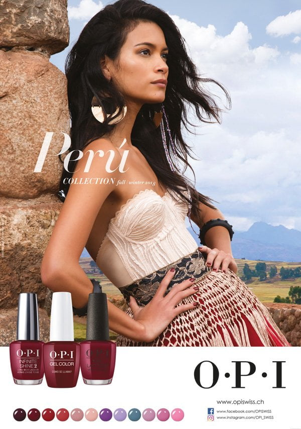 Peru by OPI Fall/Winter 2018 Collection: PR Image (Review on Hey Pretty)