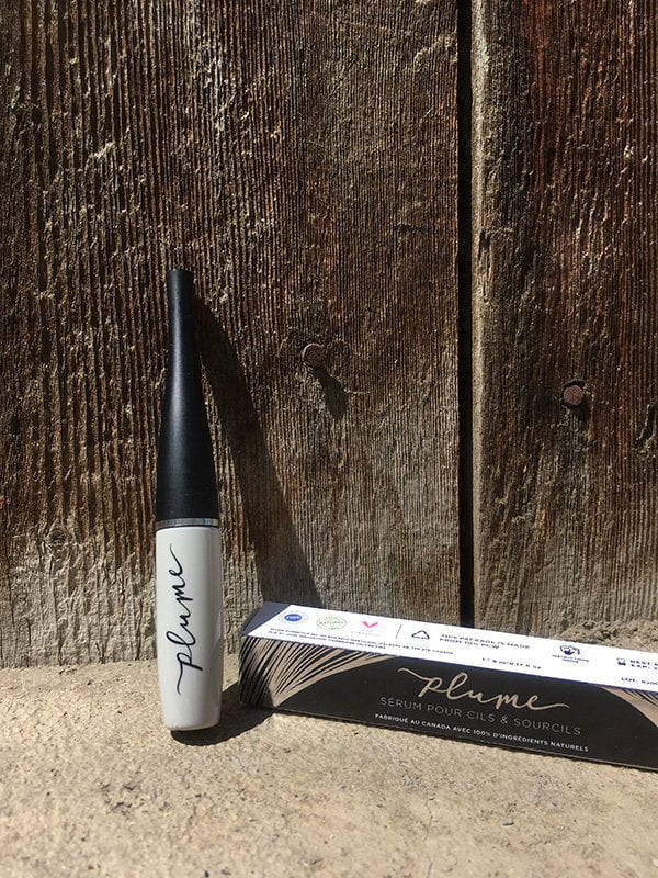 Plume Science Lash & Brow Enhancing Serum: 100% natürliches Wimpernserum (Hey Pretty Review), erhältlich bei Biomazing