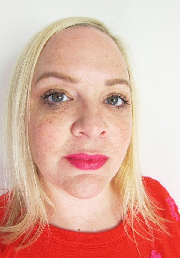 Sisley Le Phyto Rouge No. 23 Rose Delhi, Swatched by Hey Pretty