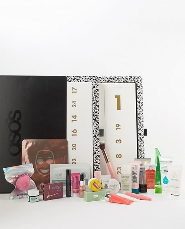 ASOS The Face + Body Adventskalender 2018 (Die besten Beauty Adventskalender 2018 auf Hey Pretty)