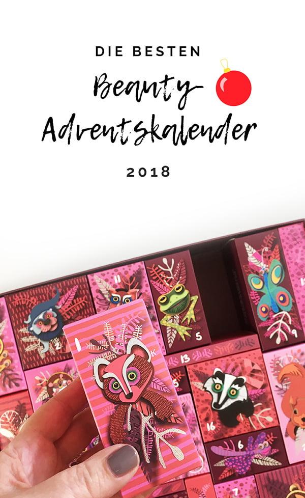 Die schönsten Beauty-Adventskalender 2018 (Hey Pretty Beauty Blog)