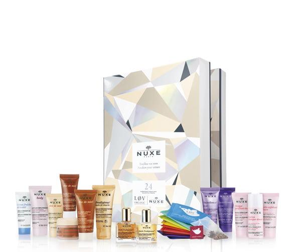 Hey Pretty's Riesen-Roundup mit den besten Beauty-Adventskalendern 2018: Nuxe