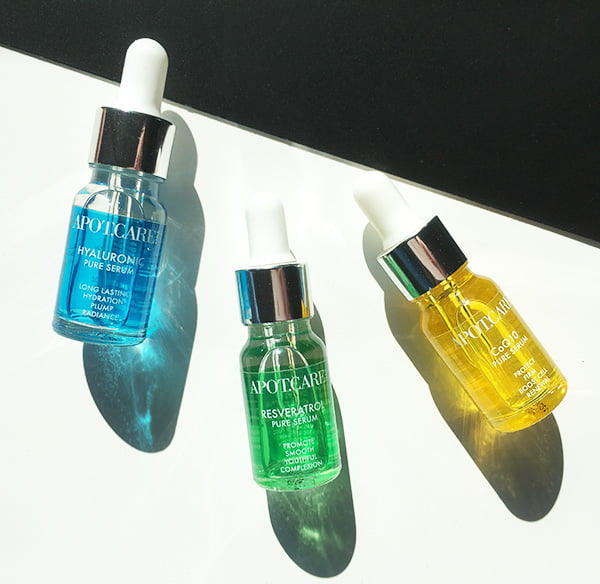APOTCARE Pure Serum Linie: Neu in der Schweiz bei Globus und Parfumerie Hyazinth (Hey Pretty Beauty Blog Review)