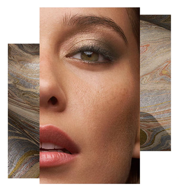 Bobbi Brown Fall 2018 Look «Camo Luxe» (PR Visual), Review on Hey Pretty Beauty Blog