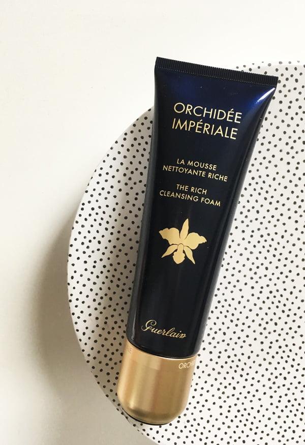 Guerlain Orchidée Imperiale The Rich Cleansing Mousse (Gesichtsreinigungen im Test auf Hey Pretty)