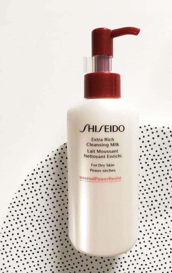 Shiseido Extra Rich Cleansing Milk: Fünf neue Gesichtsreinigungen auf Hey Pretty