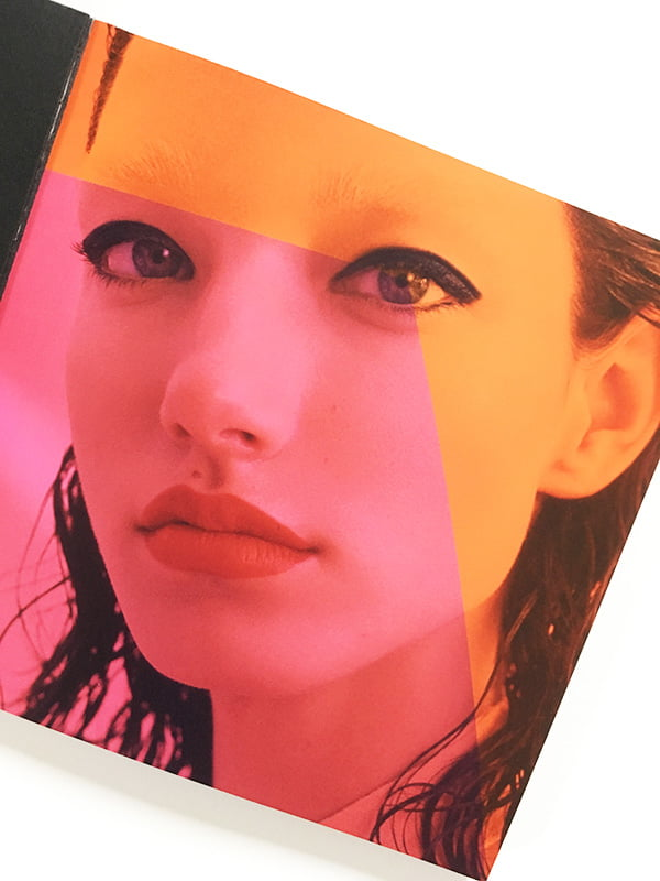 Lancôme x Proenza Schouler Model Visual (Press Booklet): Review on Hey Pretty Beauty Blog Switzerland