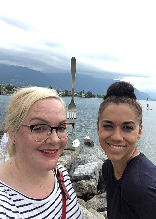 Sightseeing in Vevey: Die See-Gabel des Alimentarium, brought to you by Hey Pretty and Loumalou