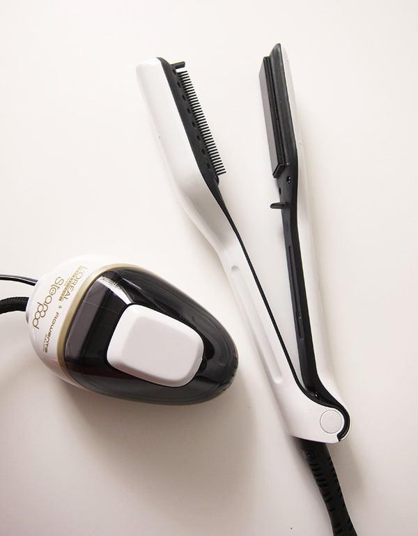 Steampod Glätteisen mit Dampf von L'Oréal Professionel: Geräte-Test auf Hey Pretty Beauty Blog