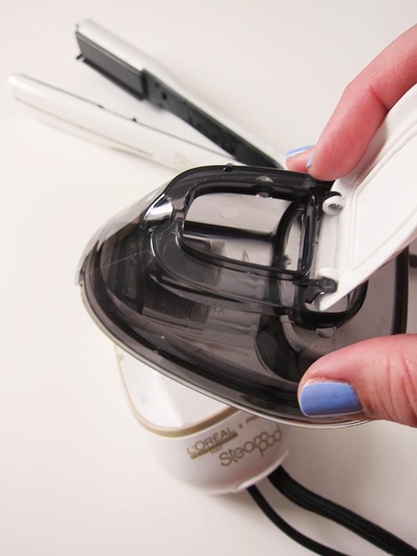 Wassertank des Steampod Haarglätters von L'Oréal Professionel (Erfahrungsbericht auf Hey Pretty)