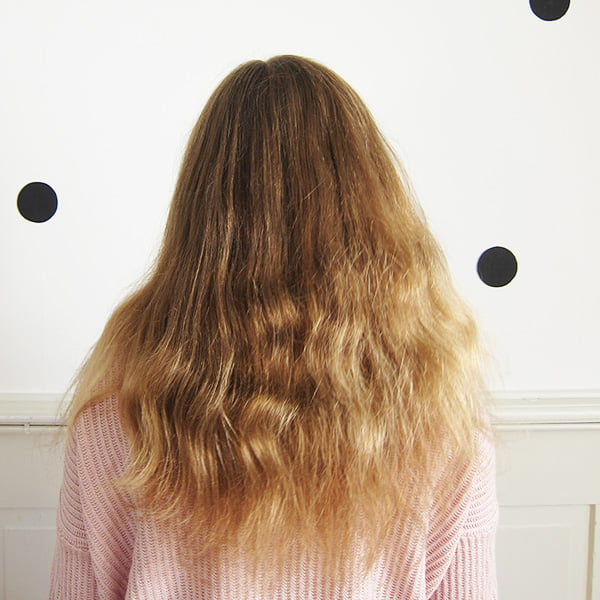 Lily vorher: Steampod Erfahrungsbericht, Step by Step auf lockigem Haar (Hey Pretty Beauty Blog)
