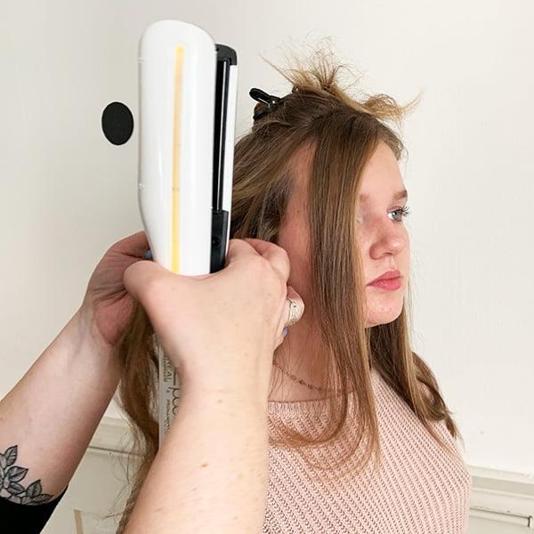 Haare glätten mit dem L'Oréal Steampod: Step Six (Hey Pretty Beauty Blog Erfahrungsbericht)