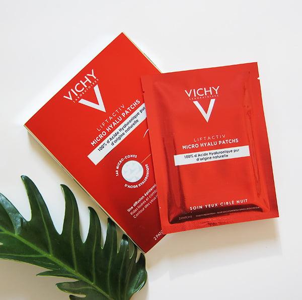 Review der neuen Vichy Liftactiv Micro Hyalu Pads für die Augen (Image: Hey Pretty Beauty Blog)
