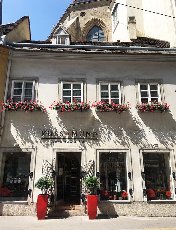 Beauty Shopping in Wien mit Hey Pretty: Kussmund (von aussen)