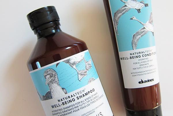 Davines Naturaltech Well-Being Shampoo und Conditioner für alle Haartypen (Erfahrungsbericht auf Hey Pretty)