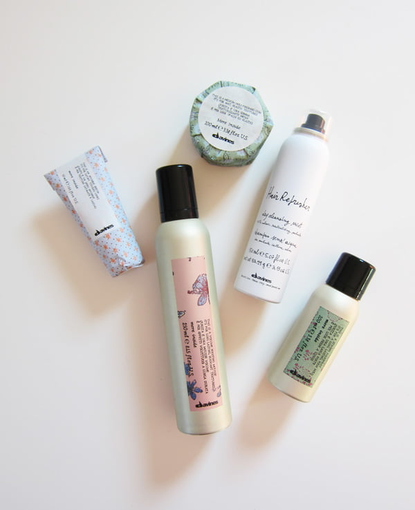 Brand Love: Davines Sustainable Beauty (Hey Pretty Beauty Blog Review): Styling-Produkte der More Inside-Linie