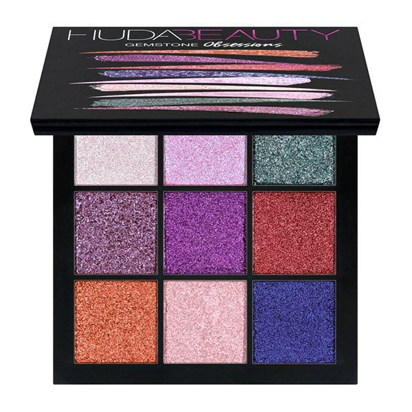 Glitter Make-Up Lieblinge: Huda Beauty Gemstone Obsession Lidschattenpalette (Hey Pretty Beauty Blog)