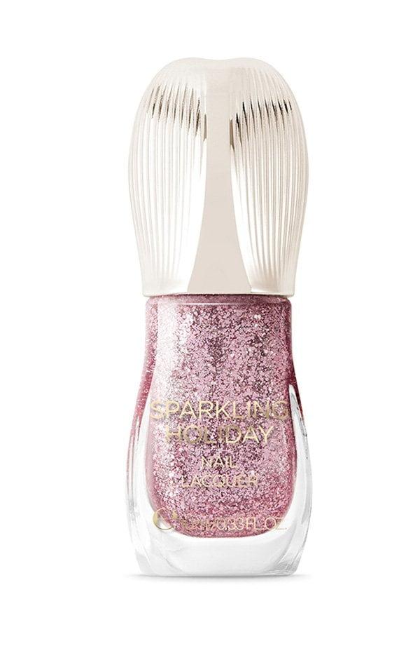 KIKO Milano Sparkling Holiday Glitzer-Nagellack in Twee Rose (Hey Pretty Glitter Make-Up Favoriten 2018)
