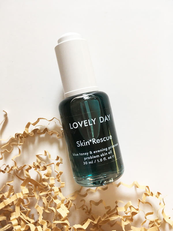 Lovely Day Skin Rescue Problem Skin Oil (Hey Pretty Beauty Blog Review), in der Schweiz erhältlich bei Oh You Pretty Things