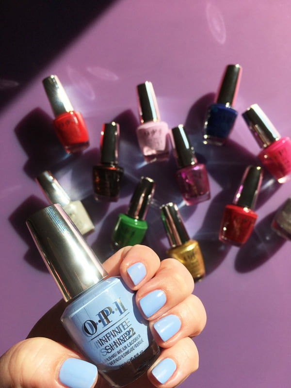 Swatched: OPI Dreams Need Clara-fication (Christmas Collection 2018 – The Nutcracker and the Four Realms), Image and swatch by Hey Pretty