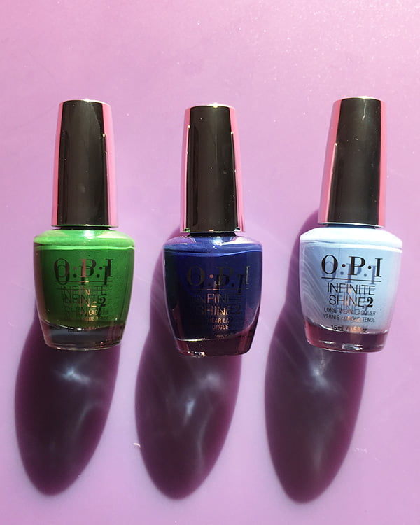 OPI Envy the Adventure, March in Uniform und Dreams Need Clara-fication (The Nutcracker Holiday Collection 2018)