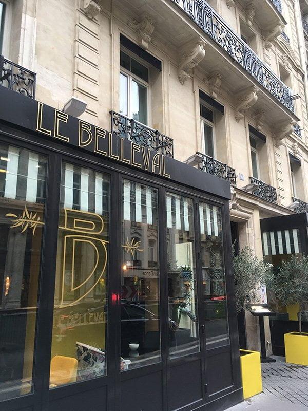 Review Hotel Le Belleval in Paris: Hey Pretty Spa Review Espace Weleda 2018 (Aussenansicht)